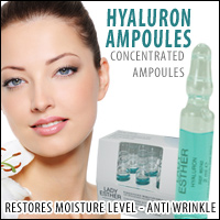 Hyaluron Ampoules by Lady Esther Cosmetic Germany